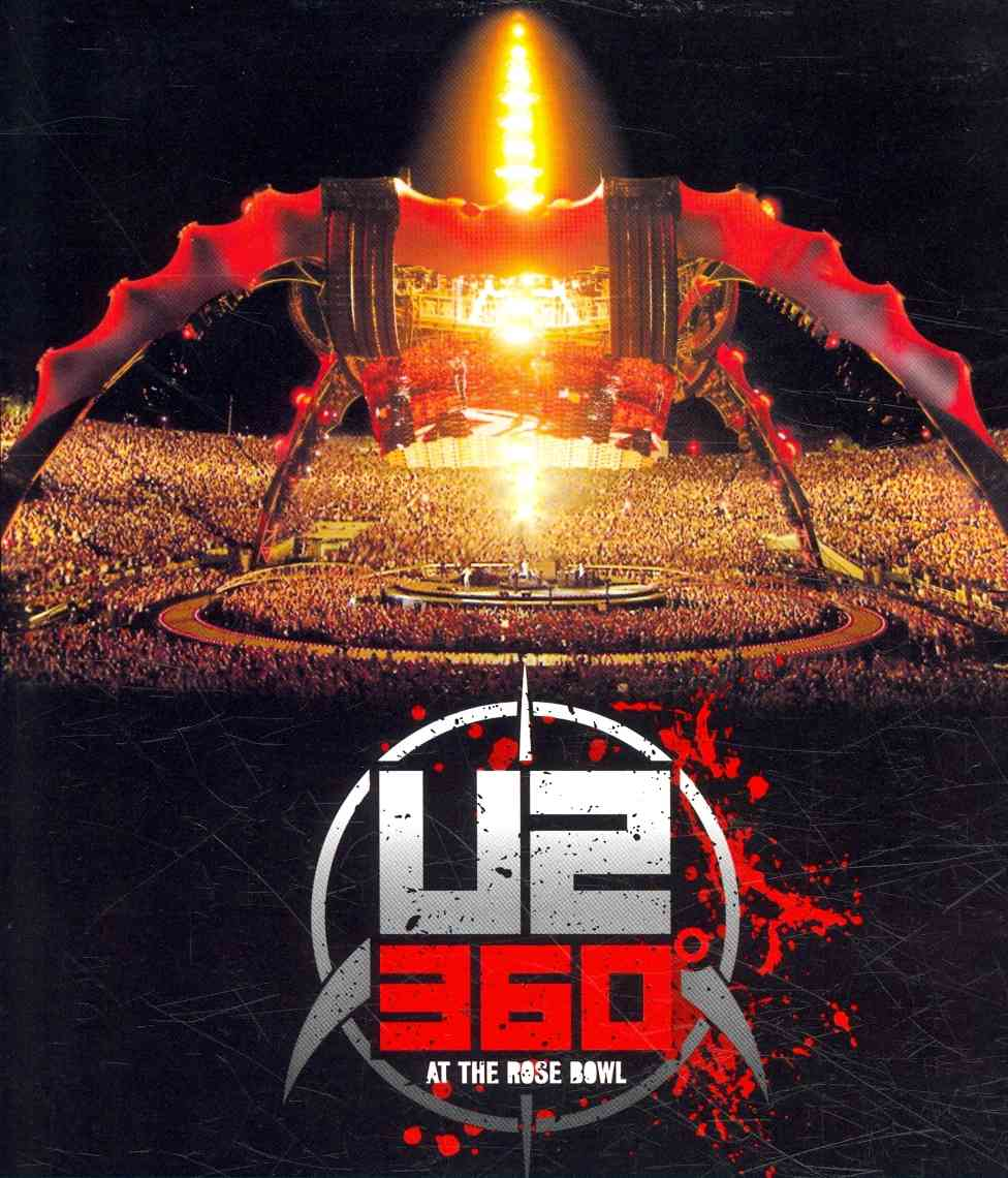 360 TOUR:LIVE AT THE PASADENA ROSE BO BY U2 (Blu-Ray)